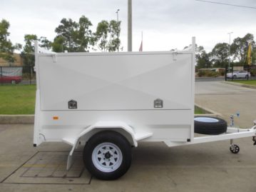 secure enclosed trailer