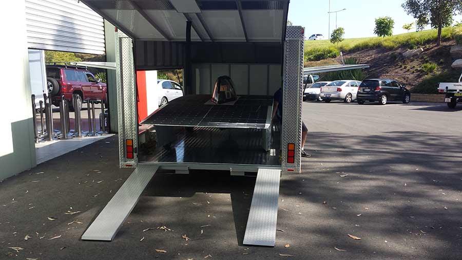 custom built trailers sydney